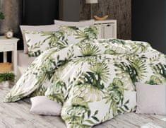 BedTex Obliečky Botanic 140x200 / 70x90 cm zelená