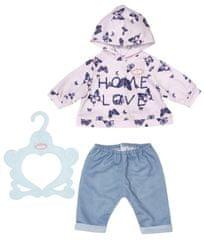 Baby Annabell Oblečení na miminko - růžové, 43 cm