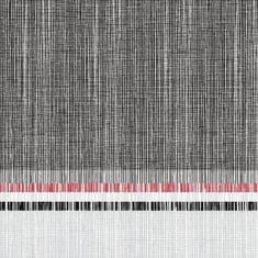 Ventidue Obrúsok jednorazový z bio netkanej textílie Paris 40x40 cm 600 ks, antracit