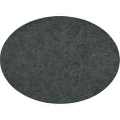ZicZac Prestieranie Truman 45x33 cm, oválne, čierne