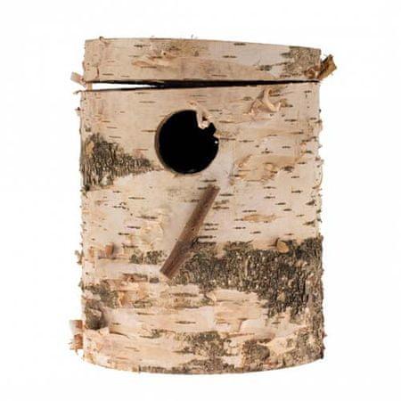 Duvo+ Madárház nyírfatörzsből 21x14x3,8cm