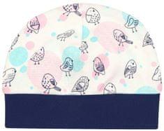 Nini dívčí čepice z organické bavlny ABN-2596