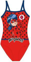 """Eplusm Jednoczęściowy strój kąpielowy dziewczęcy """"Miraculum"""" - czerwony"""