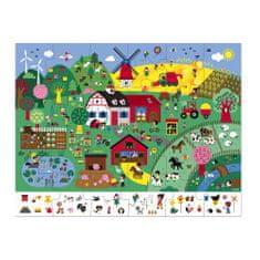 Janod Puzzle Farma 24 ks