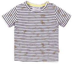 Dirkje chlapčenské tričko s prúžkami - zvieratká VD0218