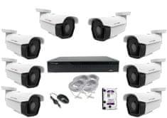 Monitorrs Security IP Park 8 kamerový set 5 Mpix