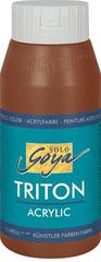 "KREUL Akrylová farba ""TRITON SOLO GOYA"", oxid tm.hnedá, 750 ml"