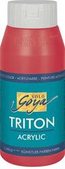 """KREUL Akrylová farba """"TRITON SOLO GOYA"""", vínovo červená, 750 ml"""