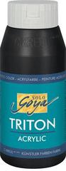 """KREUL Akrylová farba """"TRITON SOLO GOYA"""", čierna, 750 ml"""