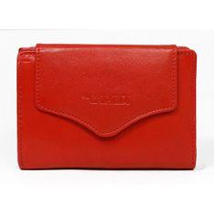 Cavaldi Dámská menší kožená peněženka Herta červená