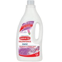 SANITIZ Čistící prostředek na plochy a podlahy / dezinfekce 1.5l - parfém Hyacint
