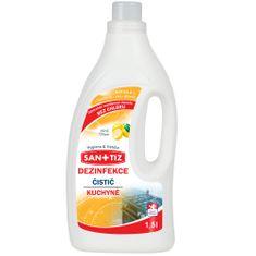 SANITIZ Čistící prostředek na kuchyně / dezinfekce 1.5l - parfém citrón