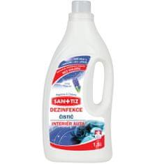 SANITIZ Čistící přípravek pro interiér automobilu / dezinfekce 1.5l - parfém Hyacint