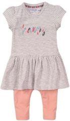 Dirkje dívčí set šaty a legíny - Happy VD0617