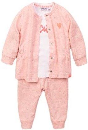Dirkje Póló, kabát és nadrág szett lányoknak VD0632, 62, rózsaszín