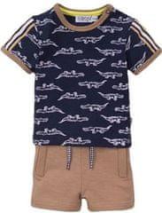 Dirkje chlapecký set tričko a kraťasy - krokodýlci VD0639
