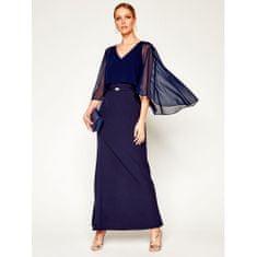 Ralph Lauren Dámské Dlouhé Večerní Šaty Sp20 Barva: Modrá, Velikost: 36