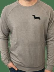 Kašmir Pánská mikina CLASSIC M2 šedá