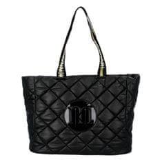 Monnari Stylová dámská koženková kabelka Lisa M., černá