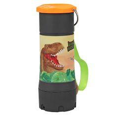Dino World ASST | Příruční svítilna , Černo-oranžová, s funkcí Dimmer