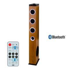Trevi XT 10A8, Bluetooth samostoječi HiFi zvočnik 2.1, 60 W, USB, MP3, FM, LED display, daljinec, lesen, rjav