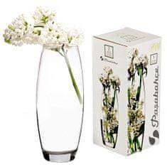 Pasabahce Flora vaza, steklo, 26x11 cm