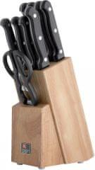 Amefa Sada nožov v bloku Artisan 9 ks - zánovné