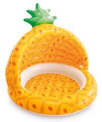 Intex 58414 Bazén detský so strieškou ananás