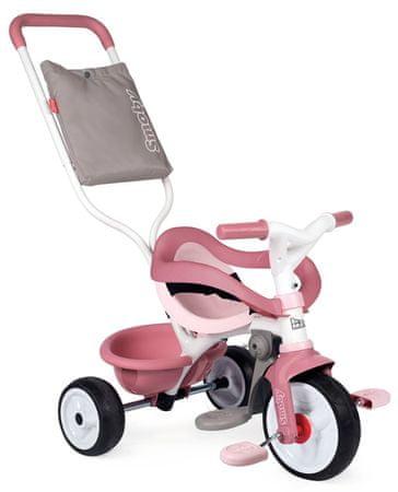 Smoby Be Move Confort tricikli rózsaszín/szürke