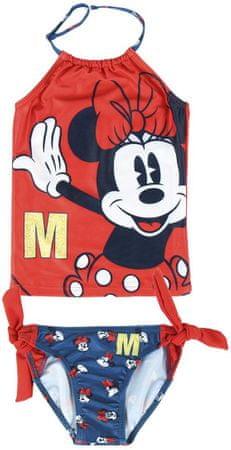 Disney Minnie 2200005034 kétrészes lány fürdőruha, 104, piros