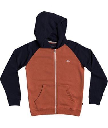 Quiksilver Fiú pulóver Easy day zip youth EQBFT03589-BYJ0, XS, narancssárga