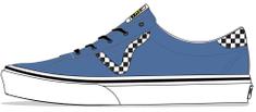 Vans dětské tenisky UY Vans Sport Checkerboard VN0A54EY3X11