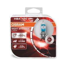 Osram HB4 NIGHT BREAKER LASER GEN2 +150% 12V 51W P22d, BOX (9006NL-HCB)