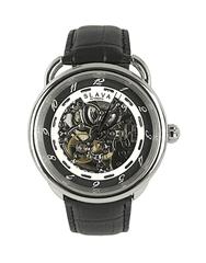Slava Time Pánské elegantní automatické hodinky SLAVA Barva: stříbrná, Velikost: UNI