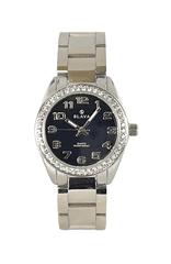 Slava Time Dámské ocelové hodinky SLAVA s kamínki SWAROWSKI na pouzdře Barva: stříbrná, Velikost: UNI