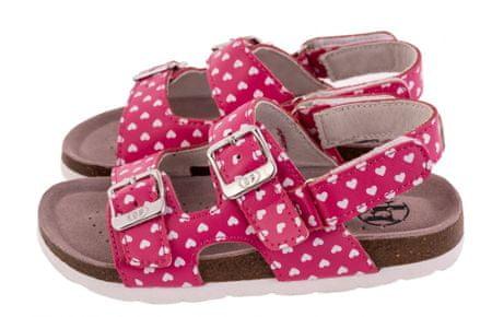 BF Sandały dziewczęce BA5251118, 35 różowe