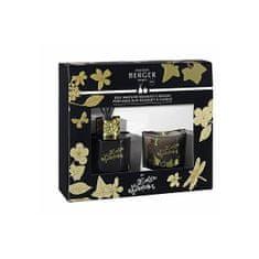 Maison Berger Paris Darčeková sada Lolita Lempicka difuzér 80 ml + sviečka 80 g čierna