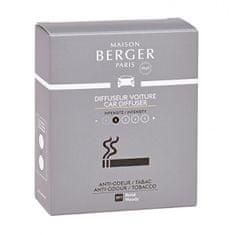 Maison Berger Paris Náhradná náplň do difuzéra do auta Antiodour tabak Tobacco (Car Diffuser Recharge/Refill) 2 ks