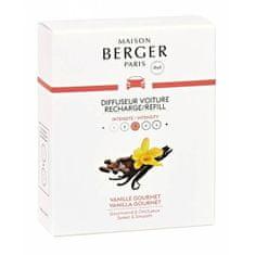 Maison Berger Paris Náhradná náplň do difuzéra do auta Sladká vanilka Vanilla Gourmet (Car Diffuser Recharge/Refill) 2 k
