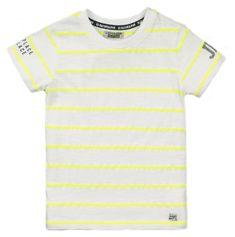 DJ-Dutchjeans VD2214 NEON majica za dječake, prugasta