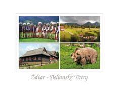 tvorme pohľadnica Ždiar - Belianske Tatry I (Vysoké Tatry)