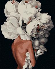 Kouzelný Art  Malování podle čísel Duše z pivoněk