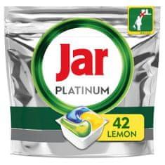 Jar kapsule do umývačky Platinum Všetko v jednom Lemon 42 ks