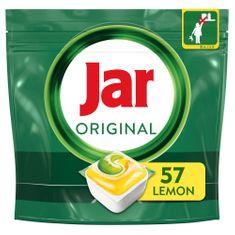 Jar kapsule do umývačky Original Všetko v jednom Lemon 57 ks