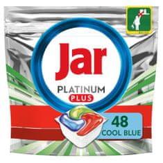 Jar Platinum Plus Všetko v jednom Regular Kapsule do umývačky 48 ks