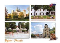 tvorme pohľadnica Bojnice - Prievidza b90