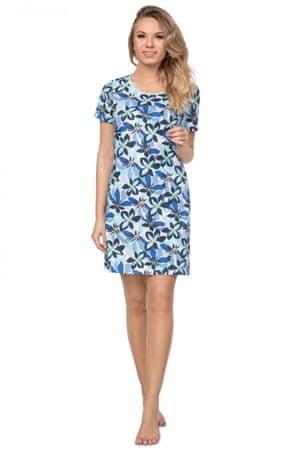 Női hálóing 385 blue plus + Nőin zokni Gatta Calzino Strech, világos kék, XXL