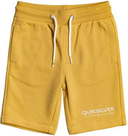 Quiksilver Fiú rövidnadrág Easy Day rib short boy EQKFB03098-YHP0, 7, sárga