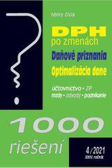 1000 riešení 4/2021 - DPH po zmenách, Daňové priznania, Optimalizácia dane