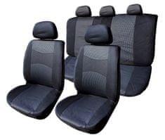 Harmony presvlake za sjedala, 11 dijelna, crno-siva